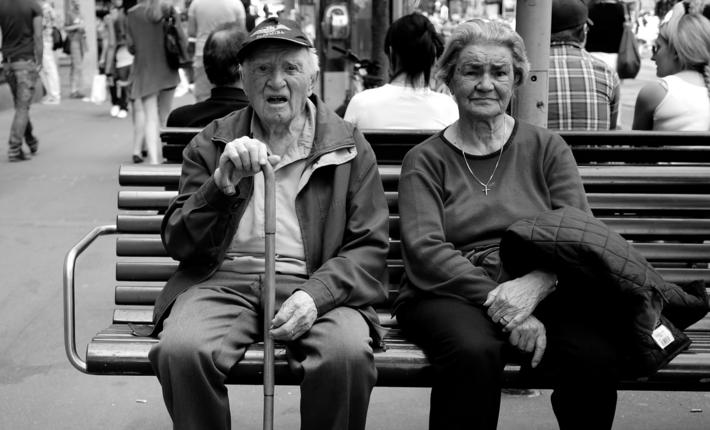 Old people - Wikimedia - Photo: Thomas Leuthard