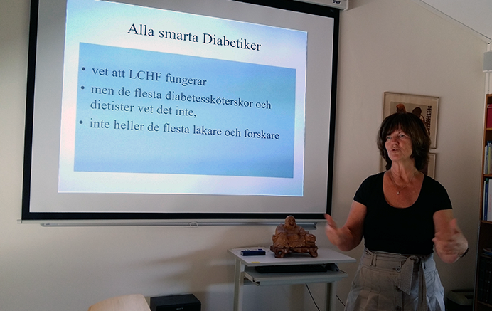 Agneta Schnittger, juni 2016 - Foto: Torbjörn Sassersson